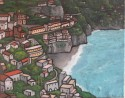 Amalfi Coast, oil,16 x 20, SOLD, available in print or giclee