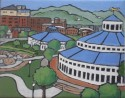 "Coolidge Park, Chattanooga, 8""x 10 "", oil, $225"