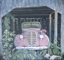 1938 Ford Firetruck, 30 x 32, oil on canvas, $895