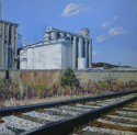 Grain Towers, Chattanooga, 20x20, $550