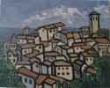 Anghiari, Italy, oil, 16 x 20, $475, available in print or giclee