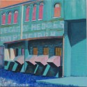 Southside Ironworks, oil, 12 x 12, $250