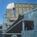 Wheland Foundry17,oil,36x36,2005, SOLD
